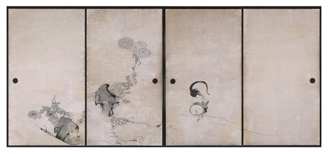20170226-菊鶏図襖絵.jpg