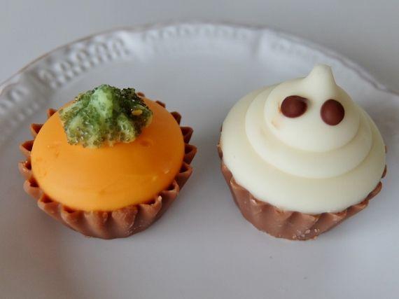 コストコ Costco ハロウィーン チョコレートボックス ベルギー Halloween Chocolates Box ハロウィン スイーツ 新商品 塩キャラメル(Salted Caramel) プラリネPraline