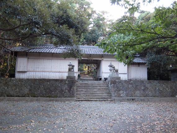 和歌山のすさみ 童謡の園 と江須崎島 神の島の春日神社
