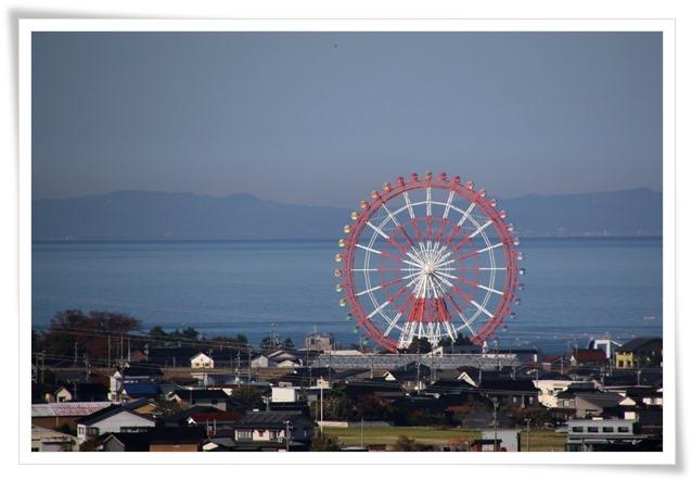 有磯海SA 富山湾と能登半島 15.11.4 9:39
