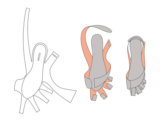 靴 設計図