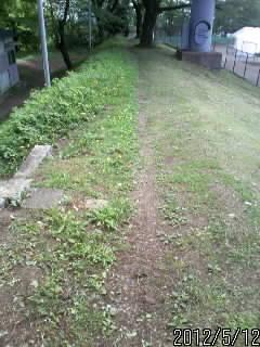 鹿沼城土塁1