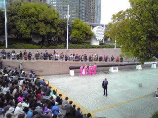 ヨコハマ大道芸2012・中国芸術雑技団1