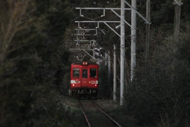 銚子電鉄「デハ1002」最終電車3