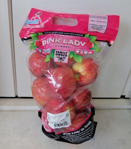 コストコ ピンクレディー りんご 797円也 林檎 リンゴ