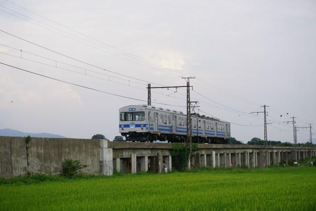 弘南鉄道 コンクリート橋から弘前