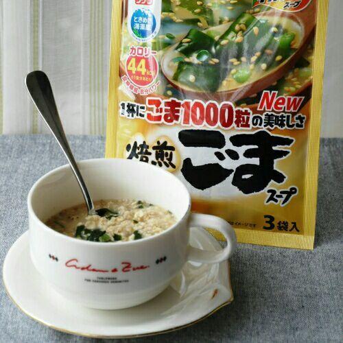 わかめスープ_オートミール