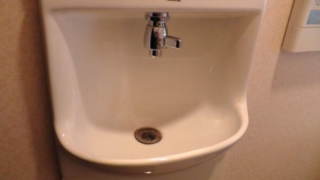 2階の手洗い
