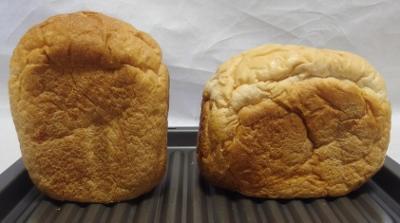 ホームベーカリーSD-BH1000-Y MKと焼いたパン横.jpg