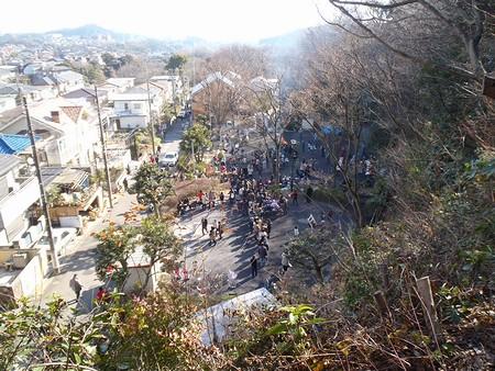 20130113 どんど焼き1