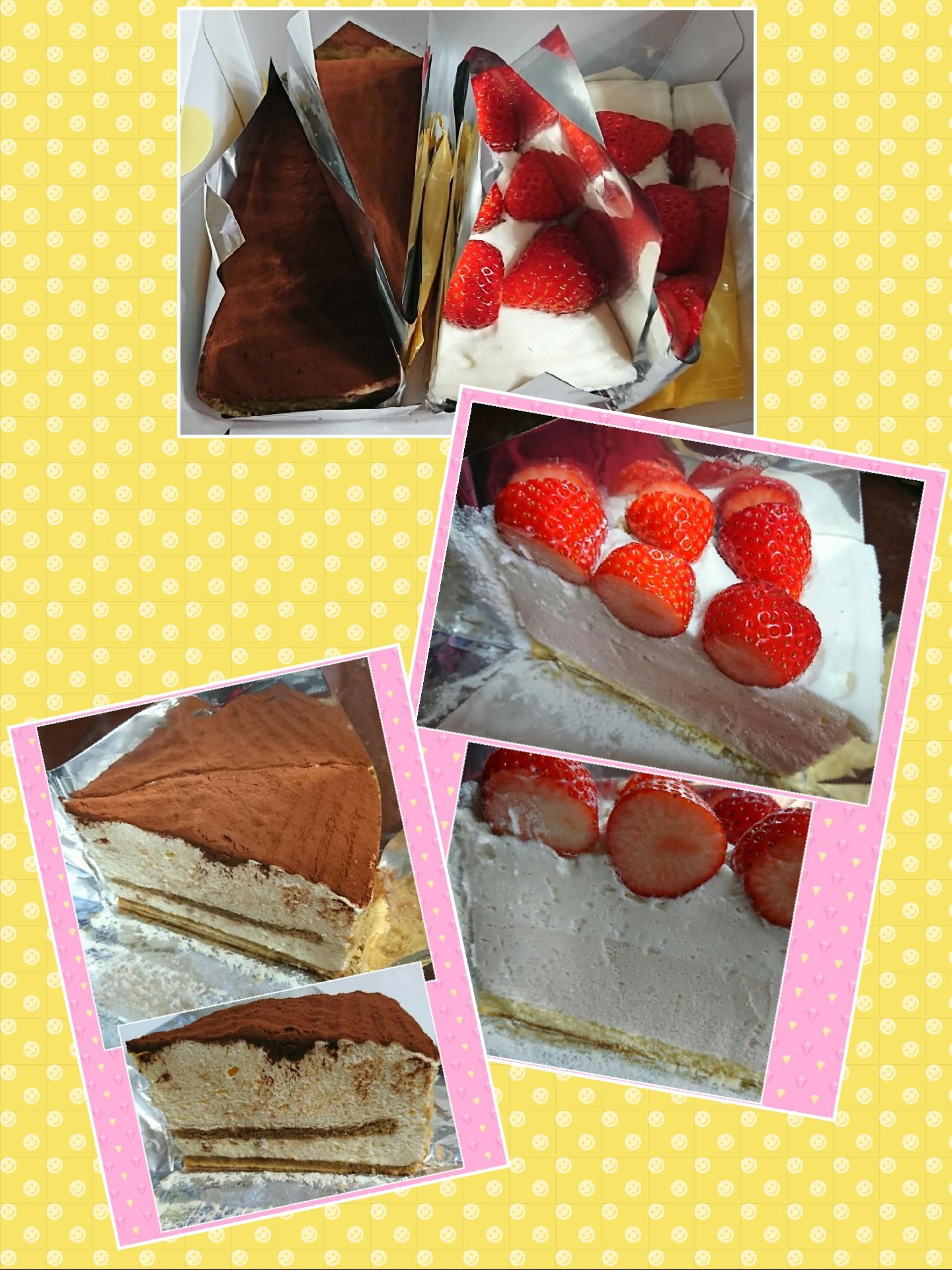 HARBS ストロベリーチーズケーキ&ティラミス