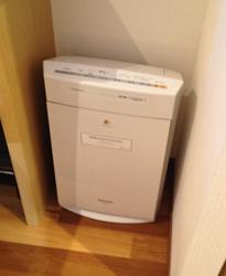 三井ガーデンホテル大阪プレミア加湿空気清浄器