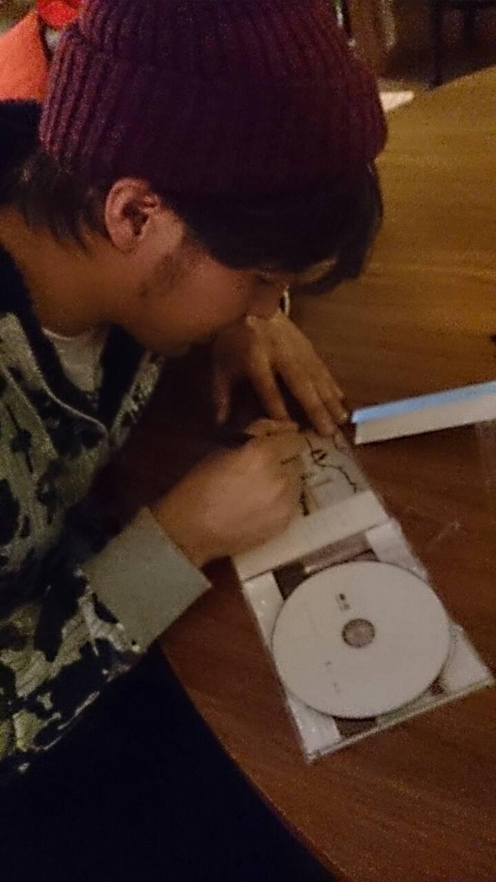 香川裕光(かがわひろみつ)サイン