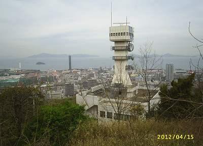 備讃瀬戸海上交通センターと本島