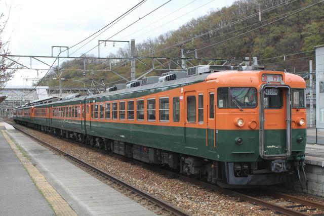 しなの鉄道  幻の 急行 「信州」 上野行き3