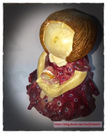 紙粘土人形2