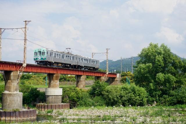 残暑の 弘南鉄道 大鰐線3