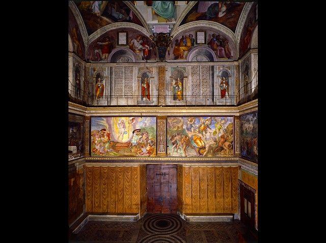 システィーナ礼拝堂壁画修復