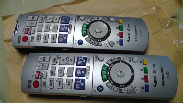 Panasonic DVDレコーダー用リモコン EUR7658YE0