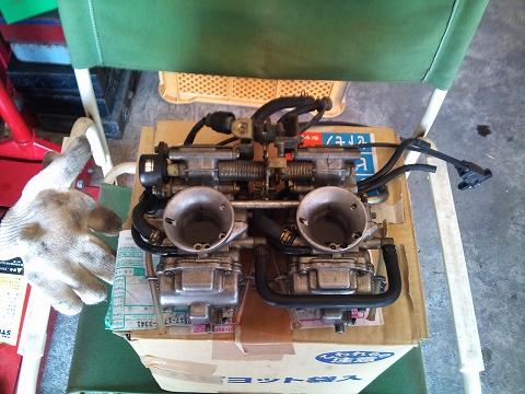 2013.04 3MAエンジン修理&CRM化粧直し 049(再びTM32登場)
