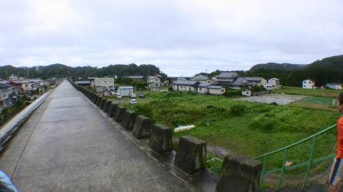 岩手県 田老町 津波防潮堤