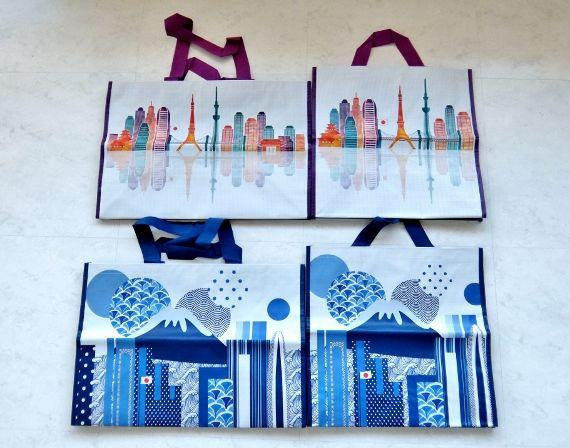 コストコ ブログ コショッピング バッグ 日本 JP 4PK 638円 COSTCO Reusable shopping bags  Keep Cool