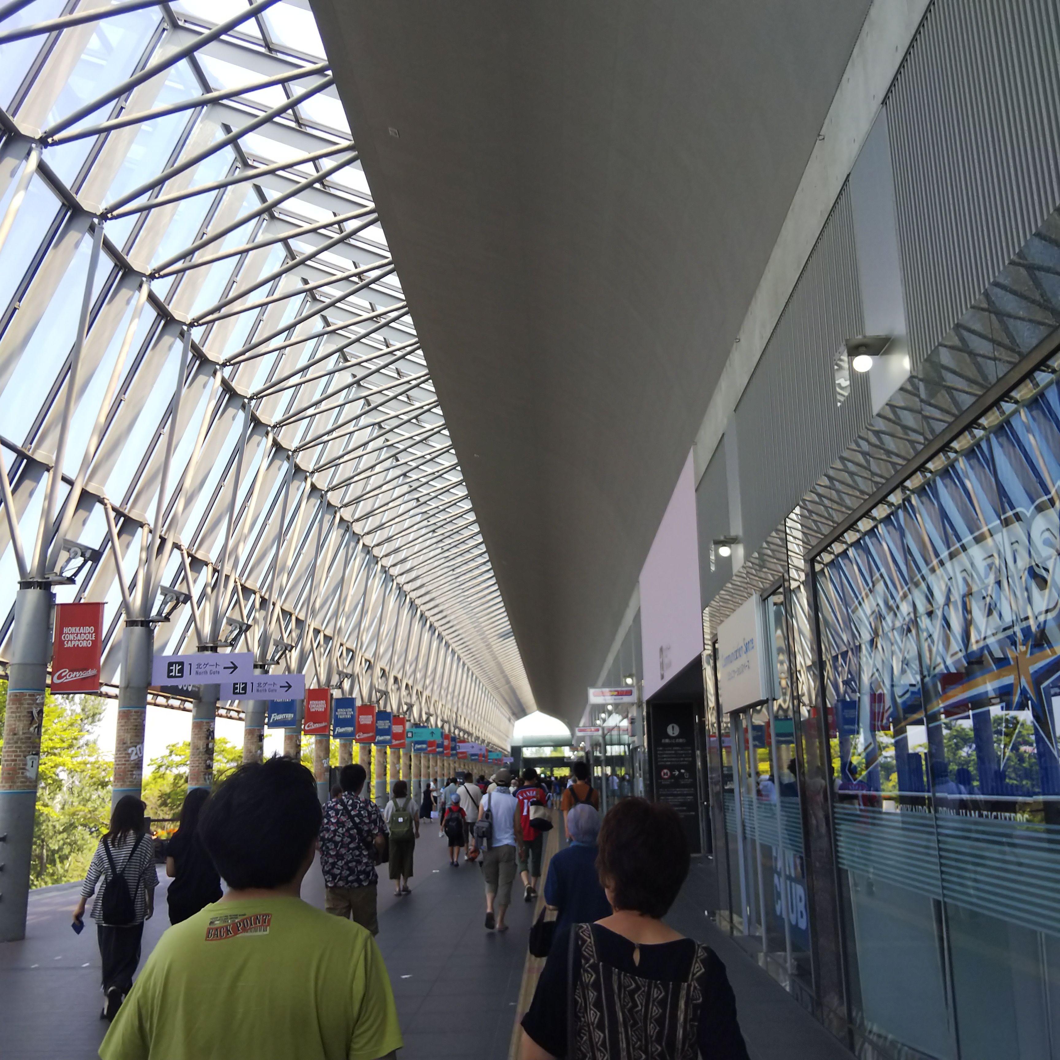 札幌ドーム_外通路
