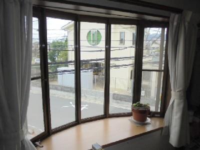 設置場所の出窓