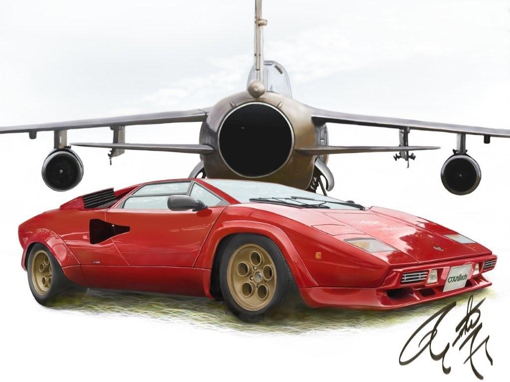 スーパーカー の記事一覧 カーイラスト Car Illustration クルマの絵 楽天ブログ