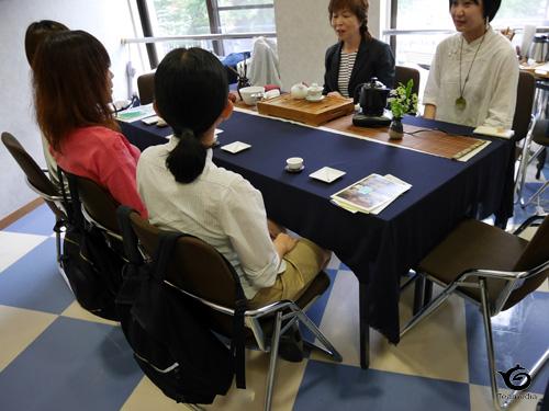中国茶普及協会の茶席