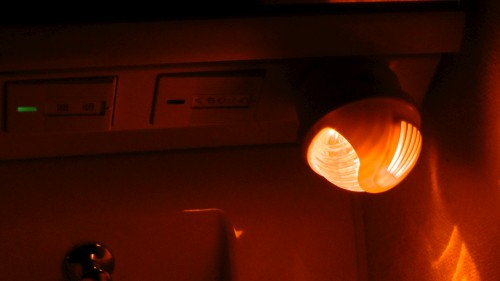 明暗センサー ナイトライト コンパクトな常夜灯