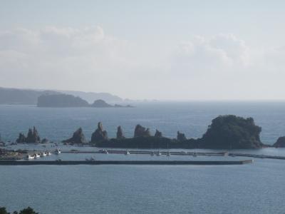 串本磯採集2013年9月下旬5 橋杭岩