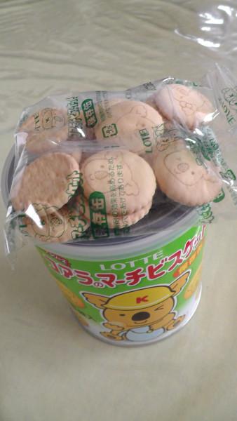 ロッテ コアラのマーチ ビスケット 保存缶