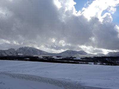 雲雲、、浅間山!!