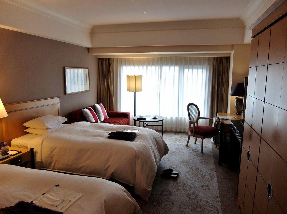 神戸ベイシェラトンホテル&タワーズ 客室 レポ ブログ