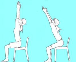 椅子のポーズ:ウトカタアーサナ