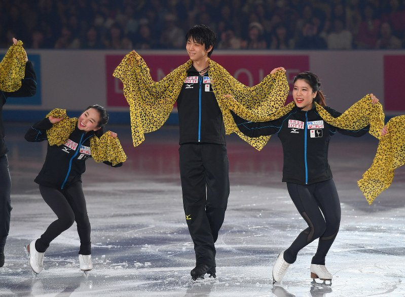 世界フィギュアスケート国別対抗戦2017 エキシビション | ochanomonomo ...