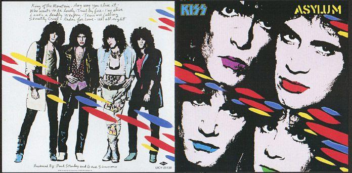 KISS『Tears Are Falling』/1985...