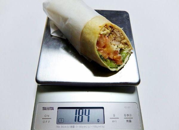 コストコで買った商品のレポ メキシカン サラダラップ 899円 Mexican デリ