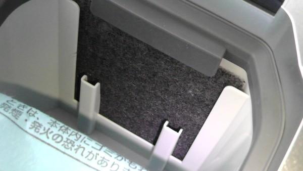 ふとん掃除機 パナソニック MC-DF500G フィルター