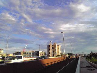 綱島の橋2012年8月