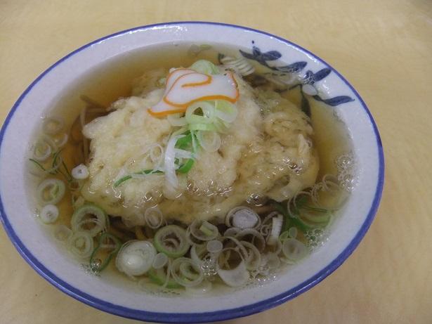 麺類食堂@石動駅の天ぷらそば1