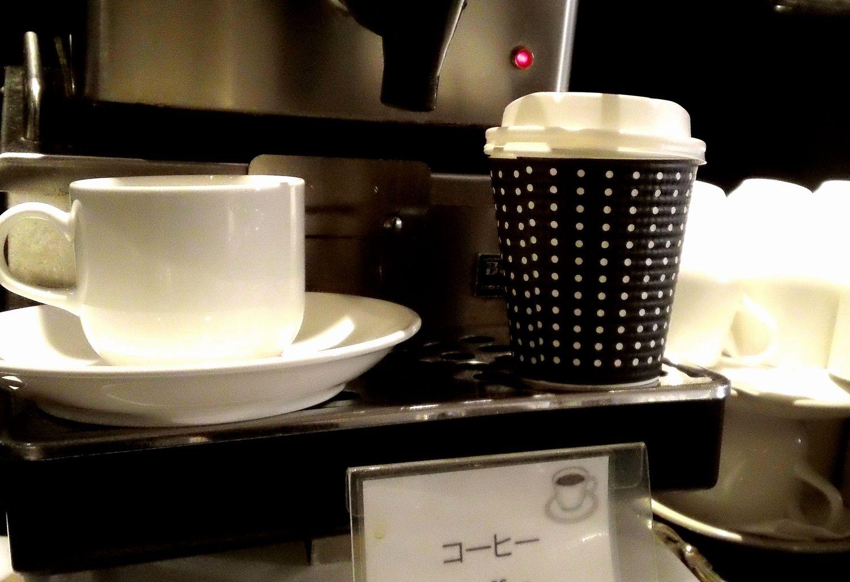コーヒーカップor持ち帰りカップ
