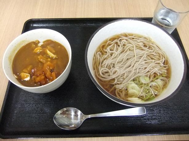 西新井5丁目・なごみのBセット(ミニカレー丼+かけそば)1