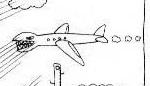 ジョジョ911-3飛行機