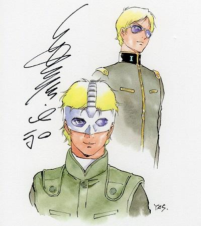 機動戦士ガンダムTHEORIGIN暁の蜂起ミニ色紙