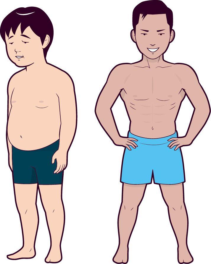 痩せる 1 10 週間 で キロ