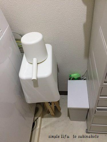 これで、カビがお風呂に発生しなくなりましたもちろん、浴室に何も置いていないので、掃除も簡単です