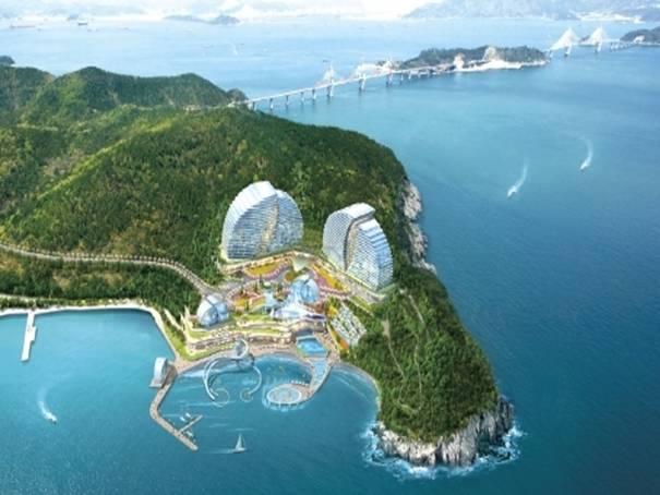 韓国旅行、慶尚南道、巨済市、ホテル