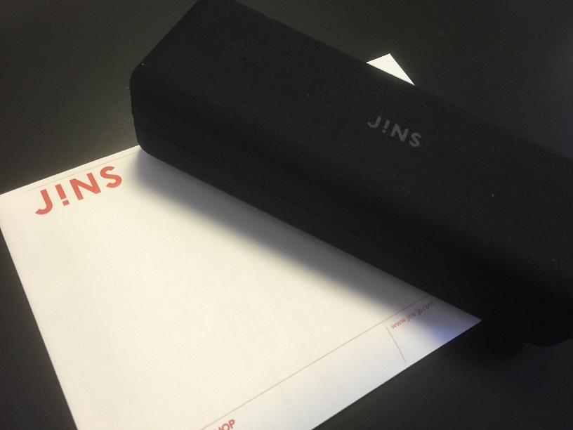 JiNS BASIC ACETATE FRAME LMN-14A-380 Color 58